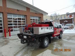 100 Fire Brush Truck Ultra HighPressure Fighting Equipment Installed On Oskaloosa
