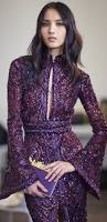 purple dresses with sleeves for weddings dress images