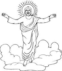 Click To See Printable Version Of Resurrection Jesus Coloring Page