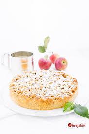 apfelkuchen mit marzipanstreuseln das rezept