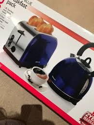 Mellerware Cobalt Blue Kettle And Toaster From Home