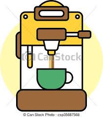 Coffee Machine Cartoon Theme