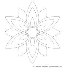 Coloring Pages Of Flowers Roses