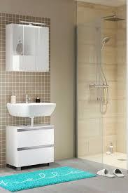 weiße möbel sovenzo für badezimmer 3 teilig badezimmer