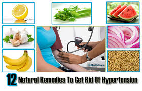 Top 12 Natural Home Reme s For Hypertension My Health Tips
