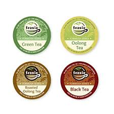 Teasia All Natural Premium Sampler Oolong Tea Pack 36 Count K Cup Hot