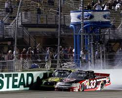 100 Truck Series Drivers Cale Gale Wins Homestead Truck Race As James Buescher Clinches Title