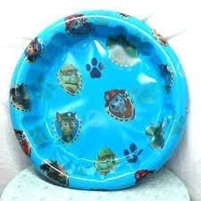 Plastic Pool With Slide Kiddie Target Hard