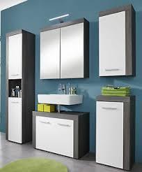 badmöbel set weiß und grau sardegna 5 tlg 175 cm badezimmer