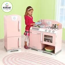 Kid Kraft Kitchen Pink Retro And Refrigerator Kidkraft Corner Costco