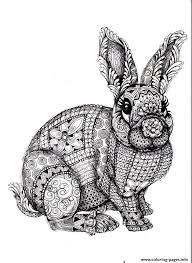 Adults Difficult Animals Coloring Pages Print Download