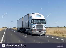 B Double Truck On Newell Highway, Central New South Wales, Australia ...