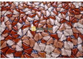 shop bulk particles brown glass mosaic tiles for
