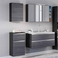 schäfer badezimmer set 4 teilig grau