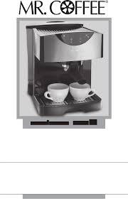 Mr Coffee Coffeemaker ECMP50 User Guide