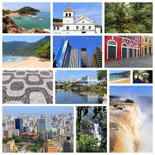 Download Brazil Places Stock Photo Image Of Picture Collage