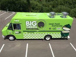 Big Green Q Food Truck - Chameleon Concessions