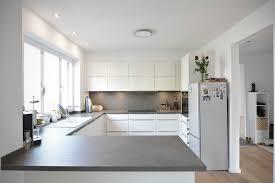 moderne küche in zeitlosem weiß modern kitchen