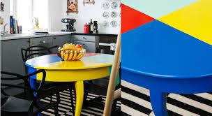 relooker une table de cuisine relooker une table en bois prima