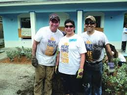Home Financing Center employees pitch in for Habitat for Humanity