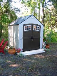 Suncast Garden Sheds Uk by Suncast Sutton 7 Ft 3 In X 7 Ft 4 5 In Resin Storage Shed