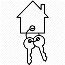 Buy House Key Ring Keys Move Icon