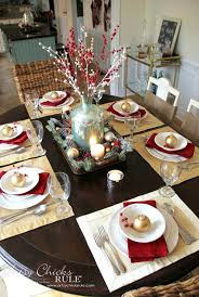 Dining Table Centerpiece Ideas For Christmas by 826 Best Christmas Table Decorations Images On Pinterest