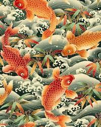 Koi In Japanese Art