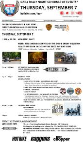 The Shed Maryville Tn Facebook by Bike Tour 2017 Schedule Baggers