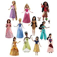 88 With Code AMAZING Disney Princess Doll Gift Set 11