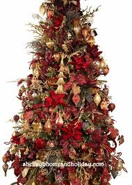 Drape Christmas Garland In A Designer Decorated Tree
