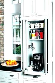 Coffee Bar Cabinet Ideas Office Station Decor Interesting View