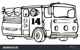 Cartoon Vector Outline Illustration Fire Engine Stock Vector ... Firetruck Clipart Free Download Clip Art Carwad Net Free Animated Fire Truck Outline On Red Neon Drawing Stock Illustration 146171330 Engine Thin Line Icon Vector Royalty Coloring Page And Glyph Car With Ladder Fireman Flame Departmentset Colouring Pages Trucks Printable Lineart Of A Cartoon Black And White With Linear Style Sign For Mobile Concept Truck Icon Outline Style Image Set Collection Icons