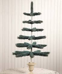 Blue Feather Tree Shelley B Home and Holiday