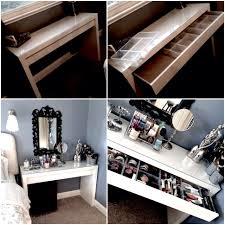 Bedroom Vanity With Mirror Ikea by Interior Ikea Makeup Dressing Table Ikea Girls Vanity Makeup