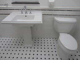 attractive 20 black and white bathroom tile photos black and white
