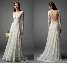 popular long sleeve wedding gown plus size buy cheap long sleeve
