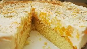 pfirsich schmand kuchen schnell und einfach so lecker