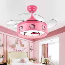 kinder decke fans mit led licht kinder schlafzimmer
