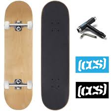 100 Ccs Decks Logo And Natural Complete Skateboard Review Longboard