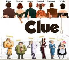 Clue Movie Board Game