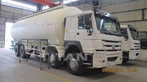 100 Bulk Truck And Transport Triple Axle Dry Bulk Cement Silo Truck Cement Transport Truck Cement
