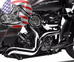Vance And Hines Dresser Duals Black by Electra Glide Exhaust Ebay