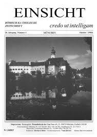 Kã Che Lutz Augsburg Romisch Ka Tholische Zeitschrift Credo Ut Intelligam