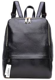 amazon com coolcy style women real genuine leather backpack