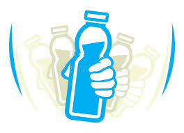 Download Shake Bottle Of Yogurt Before Use Stock Vector