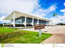 100 Where Is Brasilia Located Planalto Palace In Capital Of Brazil Editorial