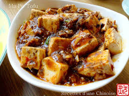 recettes d une chinoise ma po tofu ou tofou 麻婆豆腐 mápó dòufu