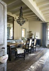 Rustic Chic Dining Room Farmhouse Vintage Chandelier Decor
