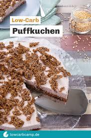 puffkuchen low carb rezept puffquinoa karamell